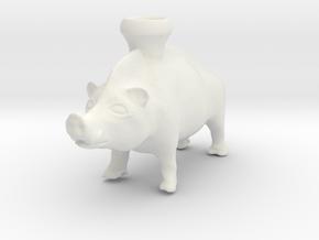 Full Size Boar Vessel, 600-500 BC, Etruscan in White Natural Versatile Plastic