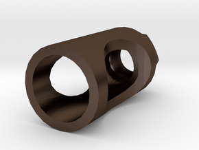 MP32PDW Flash Hider (14mm- Steel) in Polished Bronze Steel