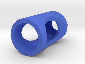 MP32PDW Flash Hider (14mm- Nylon Polymer) in Blue Processed Versatile Plastic