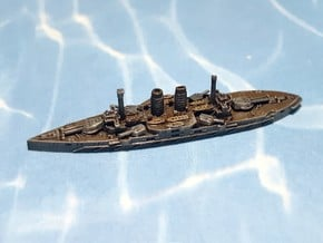IJN Battleship Katori 1905 1/2400  in Smoothest Fine Detail Plastic