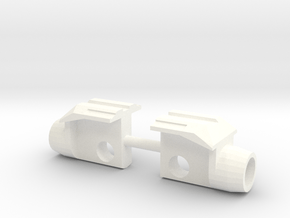 Siege Deluxe Class COG Add On Kit (Gun parts) in White Processed Versatile Plastic