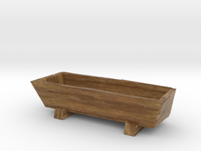 Miniature feed trough in Natural Full Color Sandstone