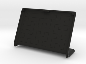 SlimCover for pimoroni inky wHAT and raspberry pi in Black Natural Versatile Plastic