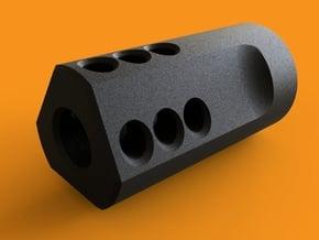 MJW Airsoft Compensator Type B in Black Natural Versatile Plastic