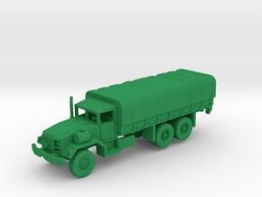 M814 Truck w-Tarp in Green Processed Versatile Plastic: 1:144