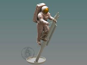Apollo Astronaut / Ladder 1:12 in White Natural Versatile Plastic