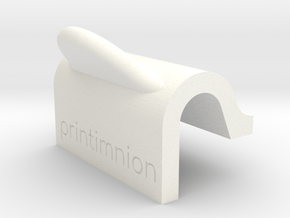 Door stopper mould for sugru by printminon in White Processed Versatile Plastic