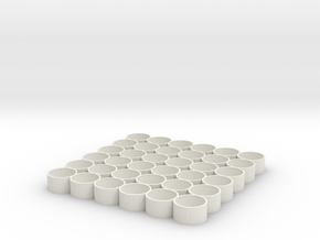 Vallejo / Army Painter 6x6 Storage Tray, Download  in White Natural Versatile Plastic