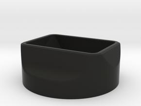 Zeiss 50/2 Planar Compact Hood in Black Natural Versatile Plastic
