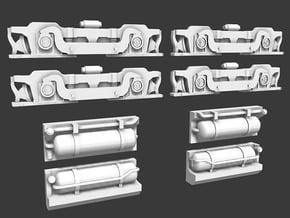SW1200 Standard Truck & Fuel Tanks in Smooth Fine Detail Plastic