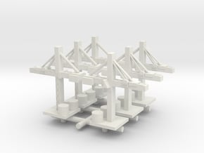 Crane x6 in White Natural Versatile Plastic