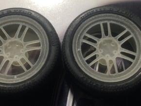 "Enkei RPF1 18"" 1/24 pack in Smooth Fine Detail Plastic"