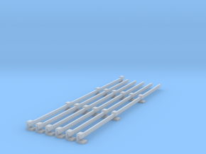 Stromschiene Conductor rail 1:160 Spur N Scale in Smoothest Fine Detail Plastic