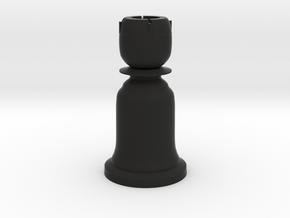 Rook Black - Bell Series in Black Natural Versatile Plastic