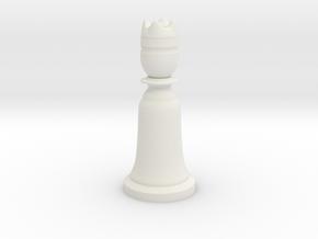 King White - Bell Series in White Natural Versatile Plastic