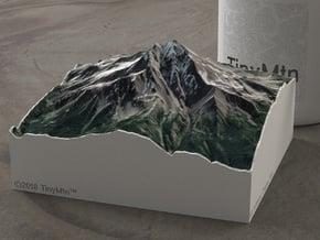 Mt. Jefferson, Oregon, USA, 1:50000 Explorer in Natural Full Color Sandstone