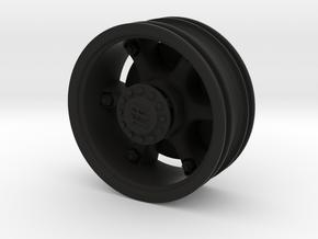 THM 04.8002 Trilex rim Tamiya trucks rear axle in Black Natural Versatile Plastic