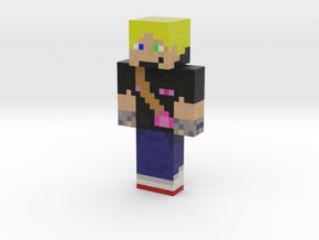 Adventurer 17   Minecraft toy in Natural Full Color Sandstone