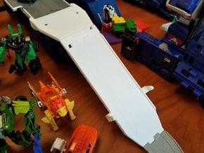 Titans Return Fort Max Folding Ramp in White Natural Versatile Plastic