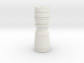 King White - Bullet Series in White Natural Versatile Plastic