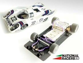3D Chassis - Fly Porsche 917 K/917 LH (Sidewinder) in Black Natural Versatile Plastic