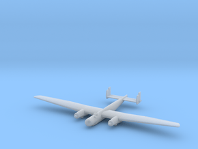 1/285 (6mm) Junkers EF.61 high-altitude bomber in Smooth Fine Detail Plastic