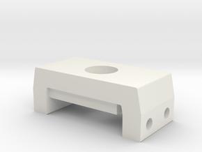 Boba Fett ESB: EE-3 Blaster Scope Mount Bracket in White Natural Versatile Plastic