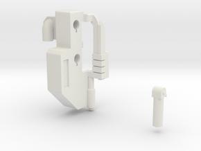 Tarn Weapon Adapter - MMC Kultur in White Natural Versatile Plastic