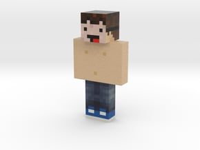 peppa_cochon | Minecraft toy in Natural Full Color Sandstone