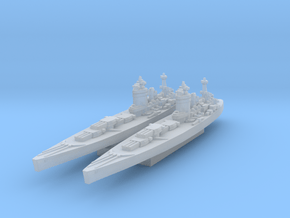 Nelson class (Axis & Allies) in Smooth Fine Detail Plastic