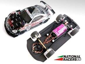 3D Chassis - NINCO Lexus SC430 - Combo in Black Natural Versatile Plastic