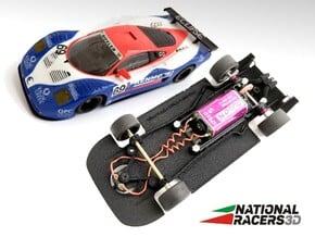 3D Chassis - Ninco Mosler MT900 R GT3 (Combo) in Black Natural Versatile Plastic