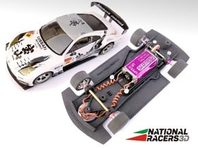 Chassis - Ninco Nissan 350Z (Combo) in Black PA12