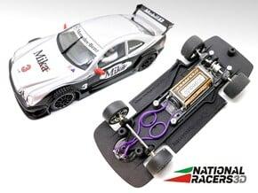 3D Chassis - NINCO Mercedes CLK DTM (Combo) in Black Natural Versatile Plastic