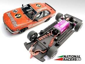 3D Chassis - Spirit 635 CSi (Inline) in Black Natural Versatile Plastic