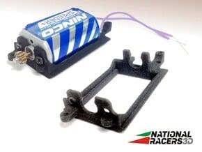 3D Motor Mount Replacement For Ninco 80606 in Black Natural Versatile Plastic