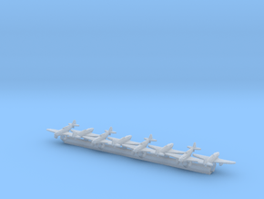 LaGG-3 w/Gear x8 (FUD) in Smooth Fine Detail Plastic: 1:700