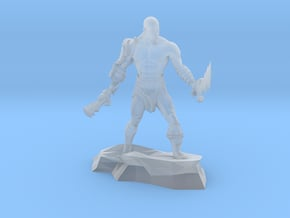 Kratos god of war classic miniature fantasy games in Smooth Fine Detail Plastic