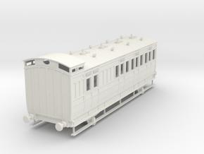 0-43-ner-n-sunderland-brake-2nd-coach in White Natural Versatile Plastic
