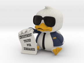 Indictment Duck in Natural Full Color Sandstone