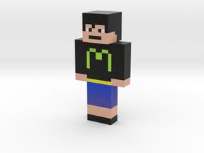 matsuri3 | Minecraft toy in Natural Full Color Sandstone