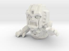 """Screamer"" 1"" Ghost for EctoTron  in White Natural Versatile Plastic"
