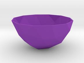 108mm f110 bowl lwlsldsgmtrx in Purple Processed Versatile Plastic