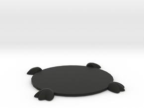 Bird Feet Wineglass or Mug Coaster in Black Natural Versatile Plastic
