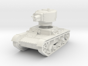 T 26 4 76mm Tank 1/87 in White Natural Versatile Plastic