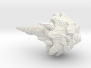 Comet in White Natural Versatile Plastic