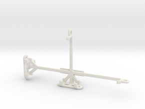 LG V50 ThinQ 5G tripod & stabilizer mount in White Natural Versatile Plastic