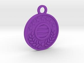 The World in Purple Processed Versatile Plastic