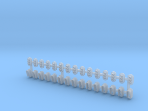 Z Scale 30x Signals SMD Special in Smooth Fine Detail Plastic
