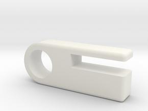 Versatile Plastic Material Sample All Colors in White Natural Versatile Plastic